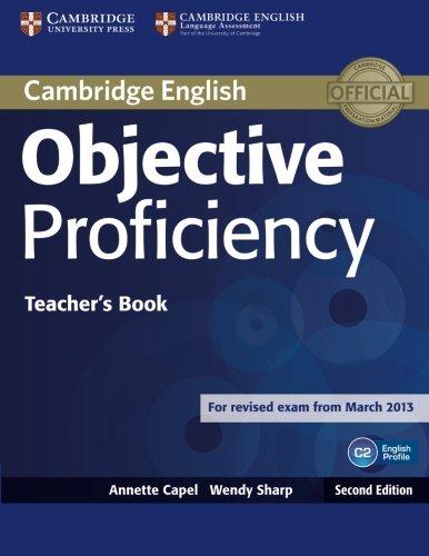 Objective Proficiency 2nd Teacher's Book