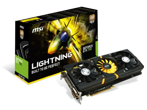 MSI N780GTX Lightning グラフィックスボード NVIDIA Geforce GTX780搭載 日本正規代理店品 VD5120 N780GTX Lightning