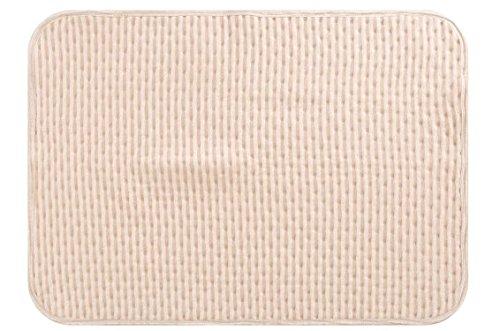 Materassino fasciatoio portatile per cambiare Saint Kaiko fasciatoio Materassini impermeabile lavabile antibatterico cotone viaggio Fasciatoio (Schiuma Deluxe Materasso)
