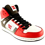 Mens DC Shoes Rebound High Top Laces Leather Skate Shoes Ankle Trainers