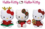 Ty Hello Kitty variety pack Beanie babies collection (3 pack)