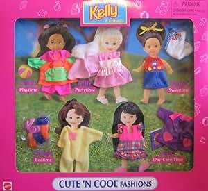 Amazon.com: Barbie Kelly 'N Friends Cute 'N Cool Fashions ... Cutencool