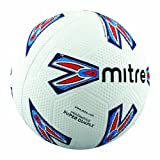Mitre Super Dimple 32 Panel Football Unisex Adult Moulded Rubber Football White 5