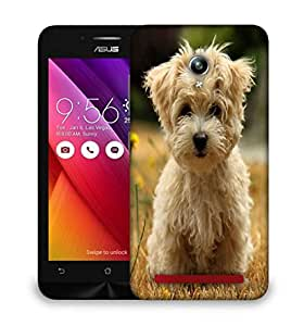 Snoogg Dog Watching The Flowers Designer Protective Phone Back Case Cover For Asus Zenfone GO