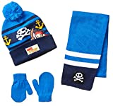 Berkshire Boy's 3 Piece Jake and The Neverland Pirates Beanie Mitten and Scarf