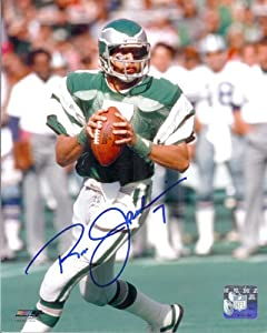 Ron Jaworski Autographed Philadelphia Eagles 8x10 Photo (vertical passing) by DenverAutographs