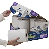 GP Georgia-Pacific Professional Series Roll Towel, 1 Ply, 7.87 Inch x 350 Feet, 2170114 (Case of 6 Rolls)