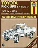 Toyota Pick-ups & 4-runner 1979-95 Automotive Repair Manual