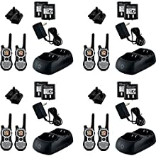 Motorola Talkabout FRSGMRS Two Way Radio with 27 Mile Range and 22 Channels - 8 Pack