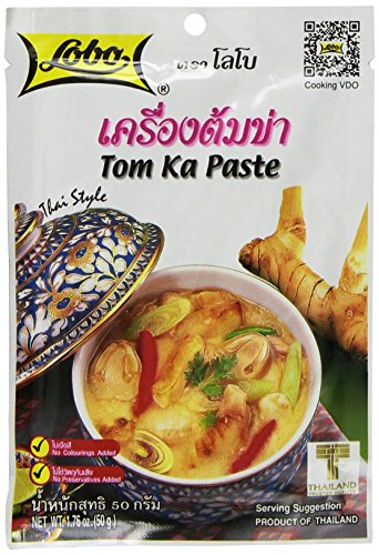 Lobo Thai Envelope Spicy Coconut Chicken Soup, Tom Ka, 1.76 Ounce (Pack of 5) (Thai Soup Mix compare prices)