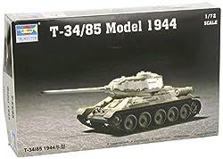 Trumpeter 1/72 Soviet T34/85 Mod 1944 Army Tank