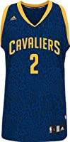 Kyrie Irving Cleveland Cavaliers #2 Adidas Youth Black Blue Crazy Light Fashion... by adidas