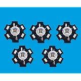 Led World 10PCS 5W 940NM High Power IR Infrared LED for NIGHT VISION CAMERA FLASHLIGHT