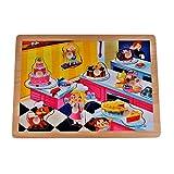 Rolimate Deluxe Classic Wooden Peg Puzzle Bundle Shape toys
