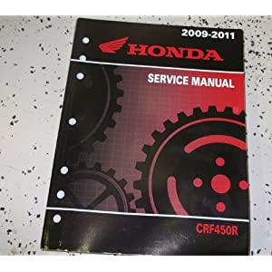 2009 2010 2011 HONDA CRF450R MOTORCYCLE Service Shop Repair Manual