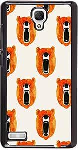 PrintVisa Cartoon Teddy Bear Case Cover for Xiaomi Redmi Note / Note 4G