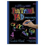 Rainbow Engraving Art Fun Travel Pads-Sports Stories