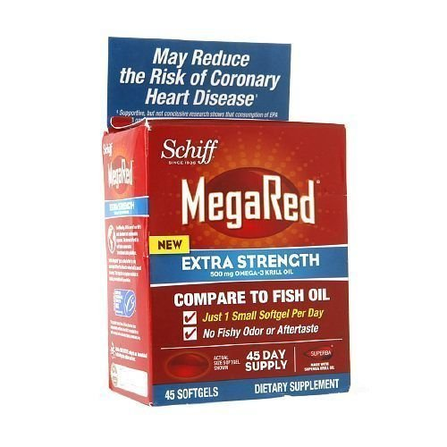 Schiff Megared Extra Strength Omega 3 - 500 Mg - 45 Softgels