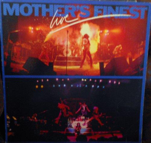 Mothers Finest Live Original Epic Records release JE 35976 1970's Soul Funk Vinyl (1979)