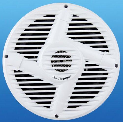 """Audiopipe Apsw1001 10"""" 500 Watt Marine Boat Subwoofer"""