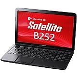東芝 PB25222GSPB ブラック dynabook Satellite[ノートパソコン 15.6型ワイドLED液晶 HDD320GB DVDスーパーマルチドライブ]