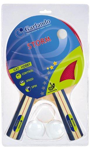 Storm (2 racchette 2 stelle + e 3 palline 1 stella) approvata ITTF