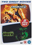 Fantastic 4/The Death Of The Incredible Hulk [DVD]