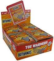 HeatMax ToastiToes Air Activated Foot Warmers With Adhesive(Pack of 40) from Heatmax
