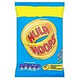 Hula Hoops Salt & Vinegar Flavour Potato Rings 34g Case of 48