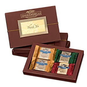 Thank You for Your Business Folio Gift Box with SQUARES Chocolates