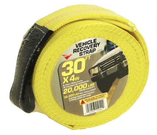 "Cheap Keeper 02942 30' x 4"" Recovery Strap"