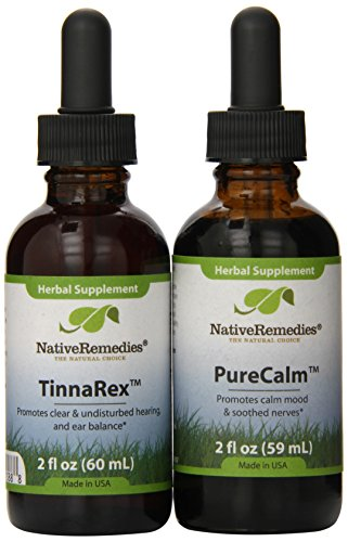Native Remedies Tinnarex And Purecalm Combopack