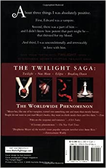 twilight book report setting Twilight book report essay sample twilight is the first book of stephenie meyer's book series of the same name, as well as meyer's debut novel.