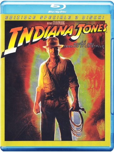 Indiana Jones e il regno del teschio di cristallo (edizione speciale) [Blu-ray] [IT Import]
