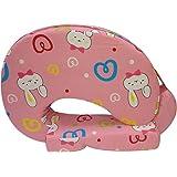 Stuff Jam Bunny Print Full Feeding/Nursing Pillow (Pack Of 1, Pink)