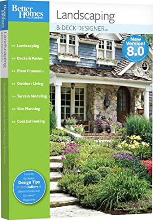 Better Homes and Gardens Landscaping and Deck Designer 8.0 [OLD VERSION]