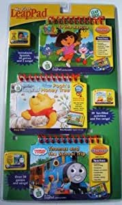 My First LeapPad Triple Pack - Dora to the Rescue, Pooh's Honey Tree and Thomas and the School Trip