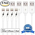 [Apple MFi Certified] [4 Pack] Lightn...