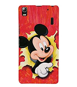 CUTE DOLL Designer Back Case Cover for Lenovo A7000