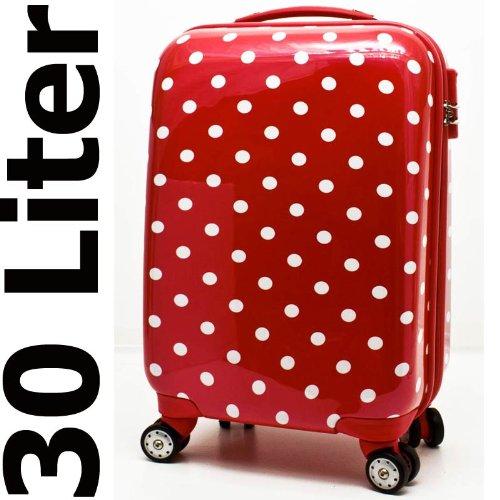 Hartschalen Handgepäck Reise Koffer Zahlenschloss