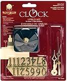 Walnut Hollow 3 Piece Clock Kit, 1/4-inch