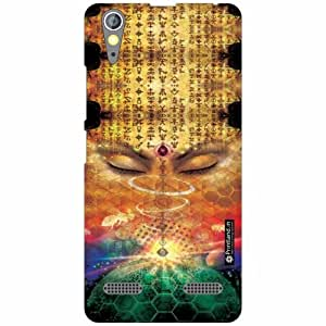 Lenovo A6000 Back Cover- Silicon Abstract Art Designer Cases