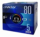 Victor MD(ミニディスク) Fino(フィーノ) Color Mix 80分 5枚 5MD-80KX