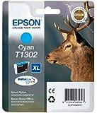 Epson T1302 Cartouche d'encre d'origine Durabrite Ultra Cyan