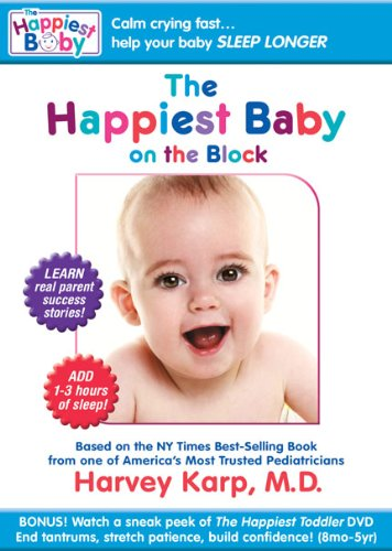 Cover art for  Lions Gate Happiest Baby On The Block [dvd] [ws/eng/span/2.0 Dol Dig]