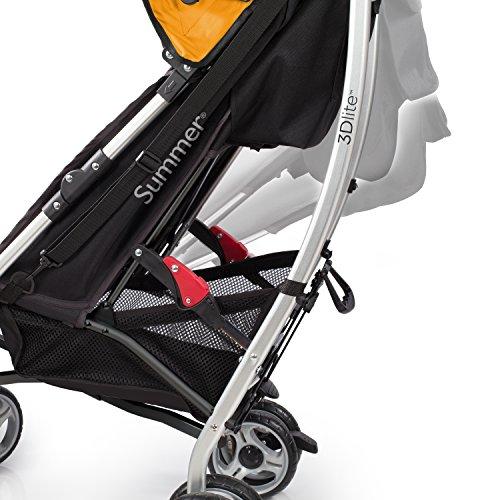 Summer Infant 2015 3D Lite Convenience Stroller, Tangerine