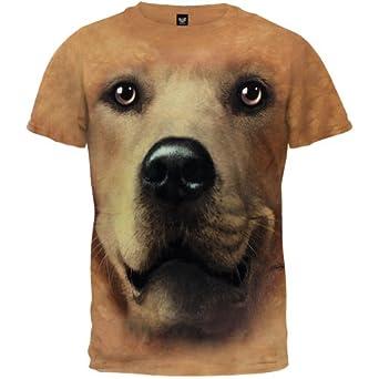 Golden Face T-Shirt, Large