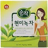 Sempio Brown Rice Green Tea, 50-Count (Pack of 5)