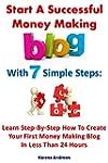 Start A Successful Money Making Blog...