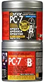 PC Products PC-7 Two-Part Heavy Duty Multipurpose Epoxy Adhesive Paste, Charcoal Gray